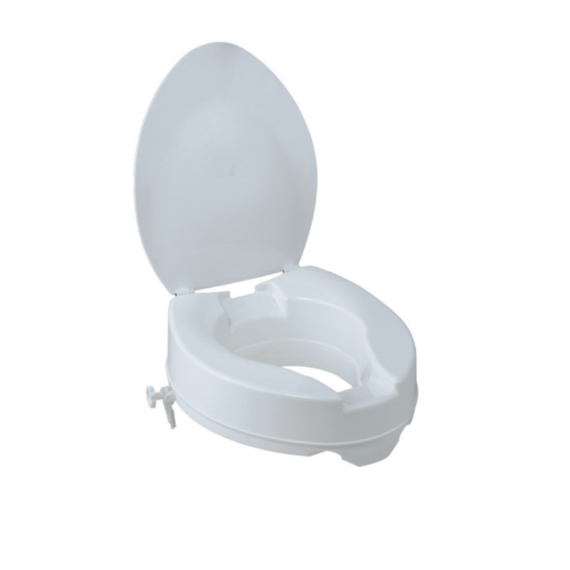 TOILET RAISER WITH COVER