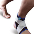 ankle support with hell lock