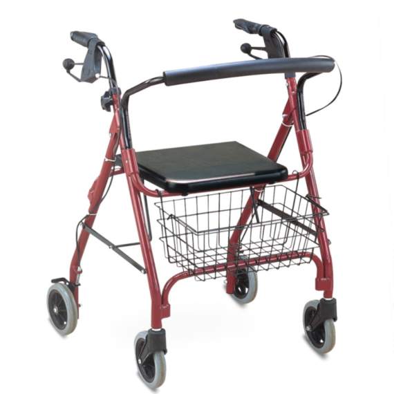 walking aid and chair
